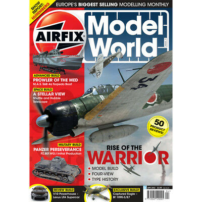 Airfix Model World April 2012 A6M Zero