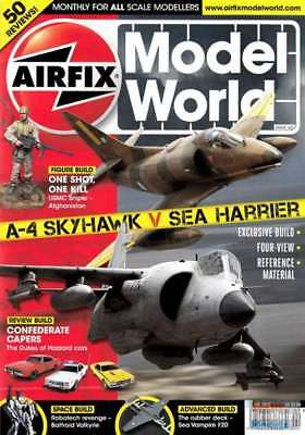 Airfix Mobel World July 2012 A-4 Skyhawk Vs Sea Harrier