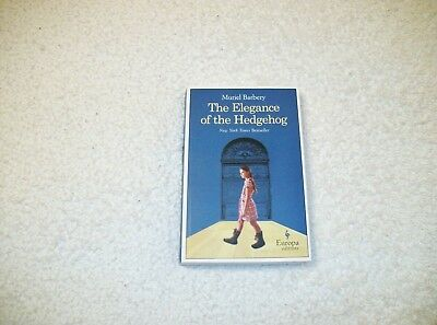 THE ELEGANCE OF THE HEDGEHOG by Muriel Barbery MINT LN Condition Free SHIP