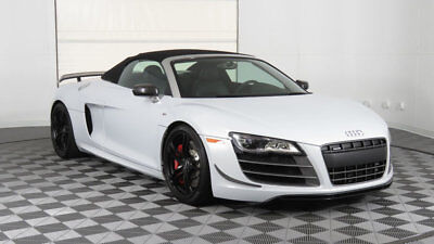 Audi R8 Spyder 2dr Conv Auto quattro Spyder 5.2L GT 2012 Audi R8 GT Spyder Only 2k Miles Suzuka Gray Well Optioned Very Clean