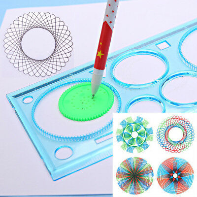 Se tMultifunction Geometric Ruler Learning Drawing Tool Stationery for Students