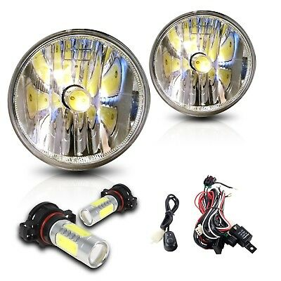 For 2017 Chevy Sonic Fog Lights w/Wiring Kit & COB LED Bulbs - Clear