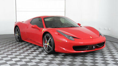 Ferrari 458 Italia 2dr Convertible 2015 Ferrari 458 Spider One Owner Sold by Us only 5k miles Lots Of Carbon