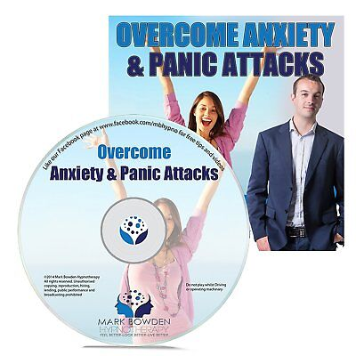 Overcome Anxiety and Panic Attacks Self Hypnosis CD. Hypnotherapy CD for Anxiety