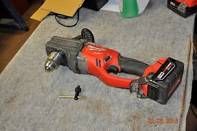 Milwaukee M18 Fuel Hole Hawg Right Angle Drill w/ 5.0 Battery 2707-20