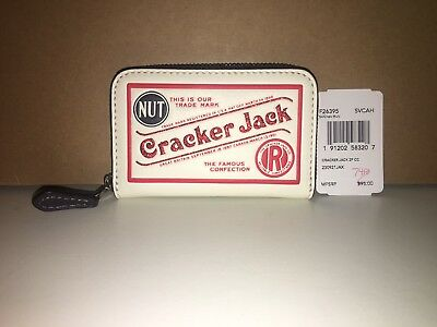 NWT 2018 Coach F26395 Limited Edition Cracker Jack Zip Coin Case Wallet NEW