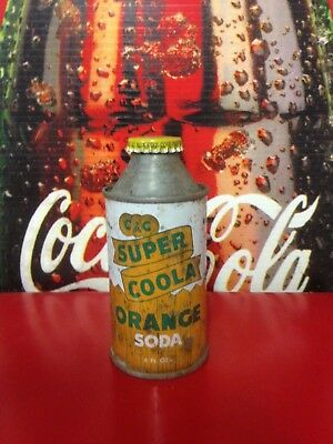 C&C Super COOLA Orange Soda CONE TOP HTF++