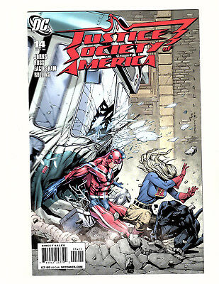 Justice Society of America #14 (2008, DC) NM Dale Eaglesham Variant Geoff Johns