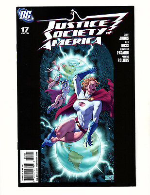 Justice Society of America #17 (2008, DC) NM Dale Eaglesham Power Girl Variant