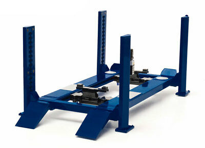 WORKSHOP HOIST - 4 POST - BLUE in 1:18 Scale by Greenlight 12884
