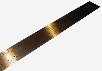 Fret Scale Rule - by Ibex - Made in USA