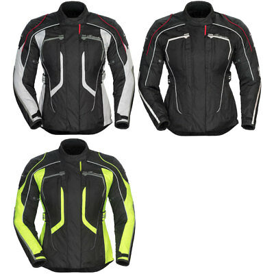 Tour Master Womens Advanced Adv. Motorcycle Jacket w/ CE Armor- Pick Size/Color