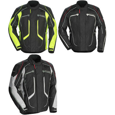 Tour Master Mens Advanced Adv. Motorcycle Jacket w/ CE Armor- Pick Size/Color