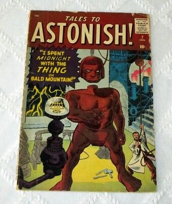 1960-Tales To Astonish No.7- Prototype Issue-Thing On Bald Mountain-Lee-Kirby