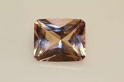 Morganite R/c Peach Gorgeous  Exotic 8Ct Must See Colour