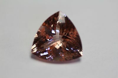 Morganite Trilian Peach Gorgeous  Exotic 23Ct+ Must See Colour Collectors Item