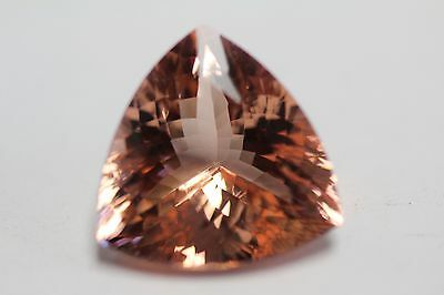 Morganite Trilian Peach Gorgeous  Exotic 31Ct+ Must See Colour Collectors Item