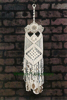 Macrame Windchimes PATTERN ... Garden Decor ... Decorative ... Copy