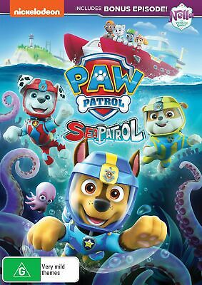 Paw Patrol Sea Patrol DVD Region 4 NEW