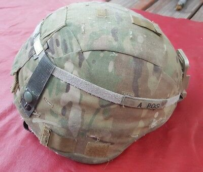 NICE ECH US ARMY (enhanced combat helmet) ceradyne MEDIUM military usgi Multicam
