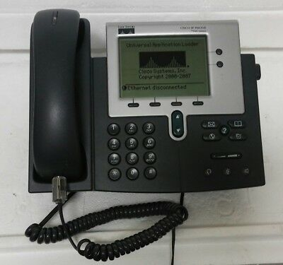 Cisco IP Phone 7940 Series 7940G Office Business Phone with handset!!