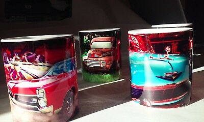 GTO, Chevy & More Classic Car Photo Mugs NEW Your Choice
