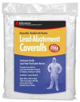 Buffalo Industries (68441) Lead Abatement Disposable Coverall - Size Large