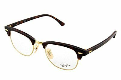 Ray-Ban 5154, Montature Unisex Adulto, Marrone (Gold Tortoise), 49 (b5H)