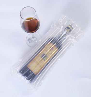 Inflatable Air Packaging Protective Bubble Packing Wrap 7Columns For Wine Bottle