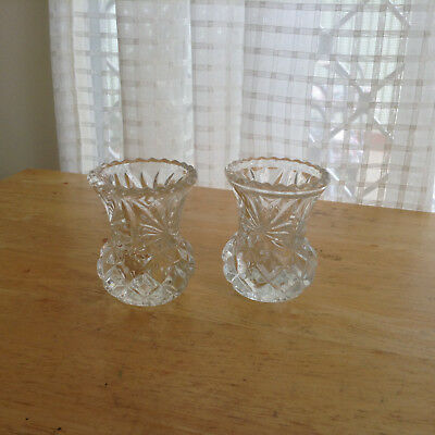 Small Crystal  Vase's
