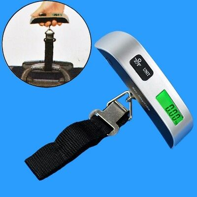 LCD Digital Portable 50kg/10g Hanging Luggage Travel Electronic Weight Scale