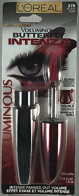 b09609df196 Lot of 2 New L'Oreal Voluminous Butterfly Intenza Fanned Volume Mascara -  Choice