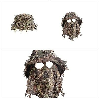 Mossy Oak Obsession Camouflage 3D Leafy Bucket Hat with Hunting Face Mask  Combo e8ce9d76611a