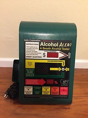 Kero Corporation Alcohol Alert Breathalyzer