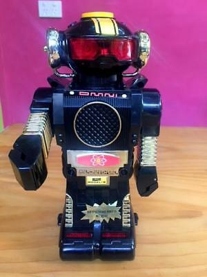 Vintage Tommy The  Atomic Robot 1970's Never Used Still In Box, Working Order