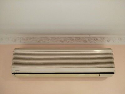 2 Panasonic reverse cycle air conditioners - split systems (selling in one lot)