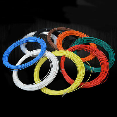 Coloured PTFE Teflon Silver Plated Copper Cable Wire 14/16/20-30AWG -65℃~200℃
