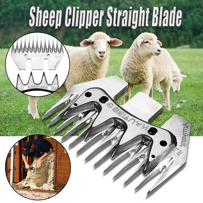High Strength Stainless Steel Straight Blade for Sheep/Goat Shearing Clipper