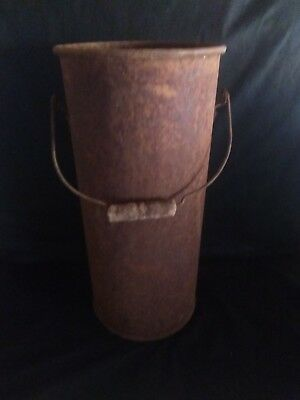 vintage ash and coal bucket from woodstove