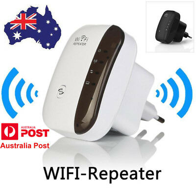 AU 300Mbps Wireless N 802.11 Wifi Repeater AP Range Router Extender Booster
