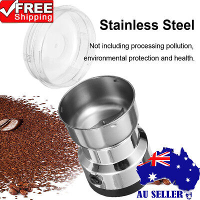 220V Electric Herbs/Spices/Nuts/Coffee Bean Grinder/Grinding/Mill Blender AU