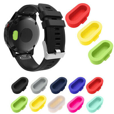 Silicone Dustproof Charger Port Protector Dust Plug for Garmin Fenix 5S/5/5X 1Pc