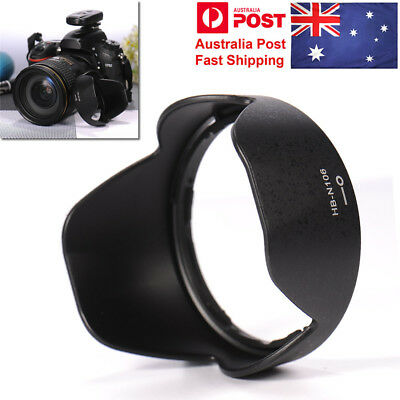 Reversible HB-N106 Lens Hood for Nikon D3400 D3300 AF-P DX 18-55mm f/3.5-5.6G
