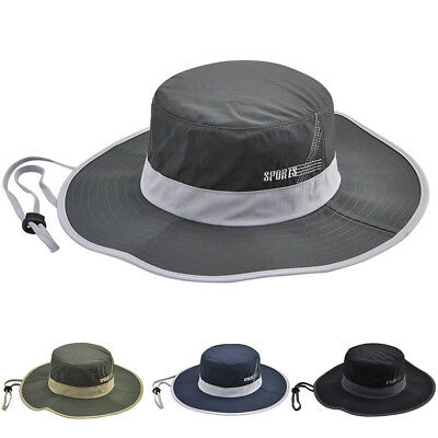 Foldable Outdoor Travel Climbing Fisherman Hat Unisex Casual Sun Cap Reliable