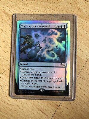 Very Cryptic Command (return) Unstable (FOIL)