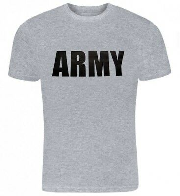 T-Shirt US Army Navy Air Force USAF Marines USMC Military Physical Training