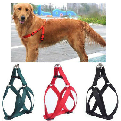 Dog Step-in Control Harness Puppy Training Vest Pet Safety Walk Collar S-XL