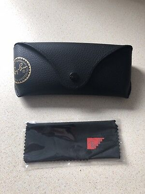 Ray Ban Black Sunglasses Case & Cloth Included