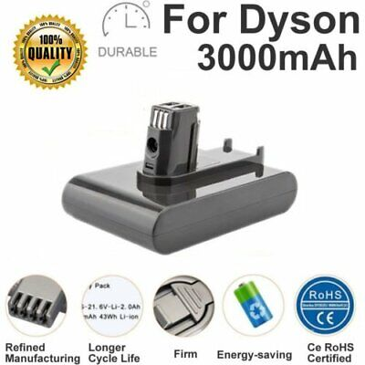 22.2V 3000mAh Li-ion Vacuum Battery For Dyson DC31 DC34 DC35 Type A DC44 Animal