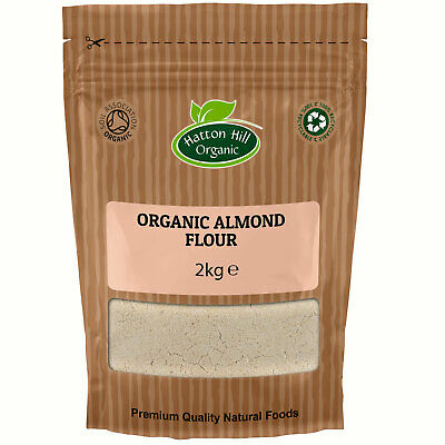 Organic Blanched Ground Almond Flour 2kg Certified Organic
